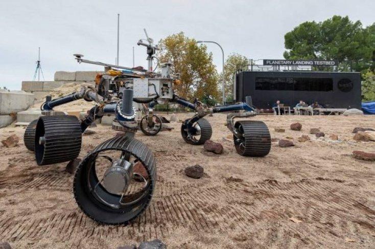 Robô Perseverance - Foto: Nasa