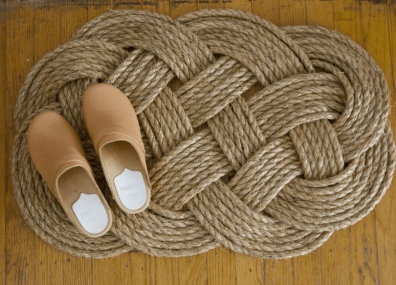 DIY de tapete de corda