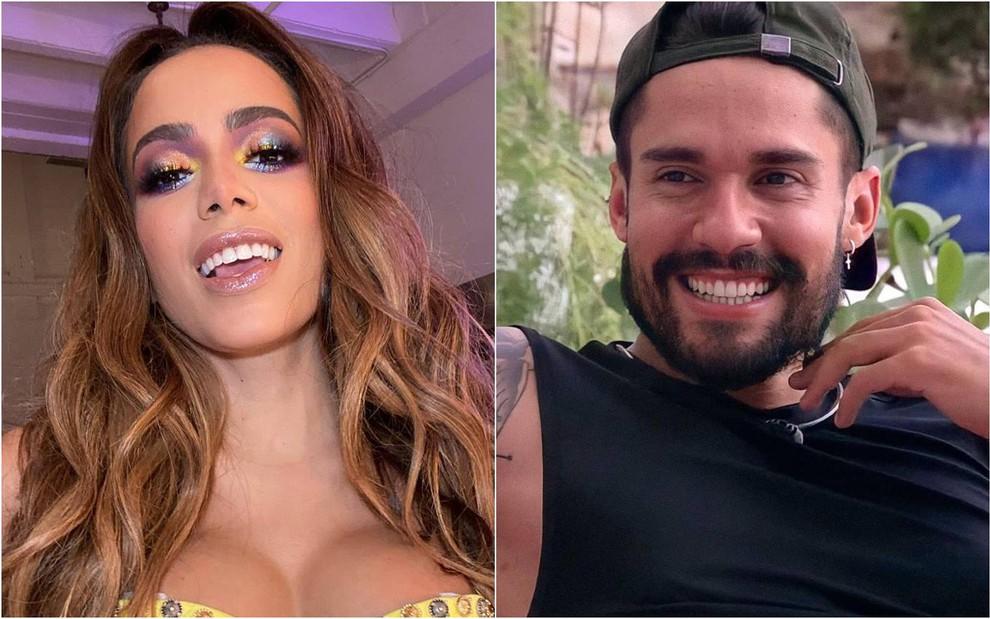 Anitta declara interesse em Arcrebiano, do BBB21, e brother responde - Reprodução