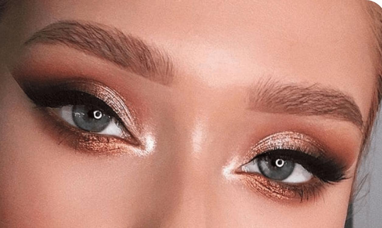 maquiagem olhos verdews