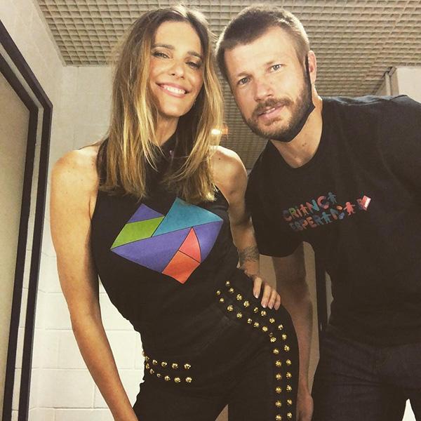 Casais famosos: Fernanda Lima e Rodrigo Hilbert