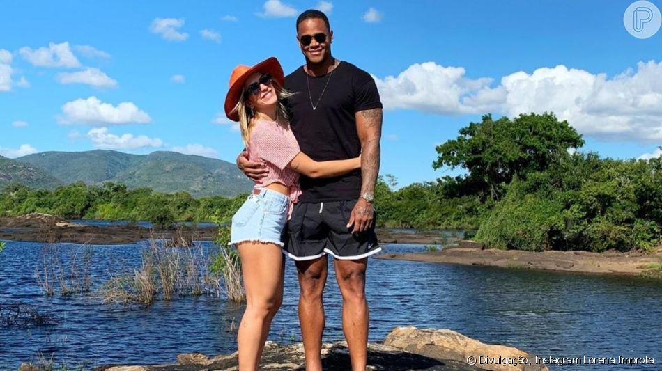Lore Improta e Léo Santana