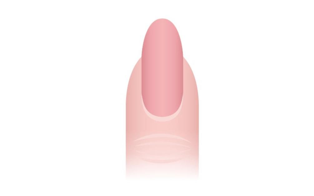 unhas ovais