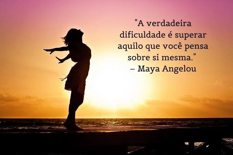 frase mulheres empoderadas Maya Angelou