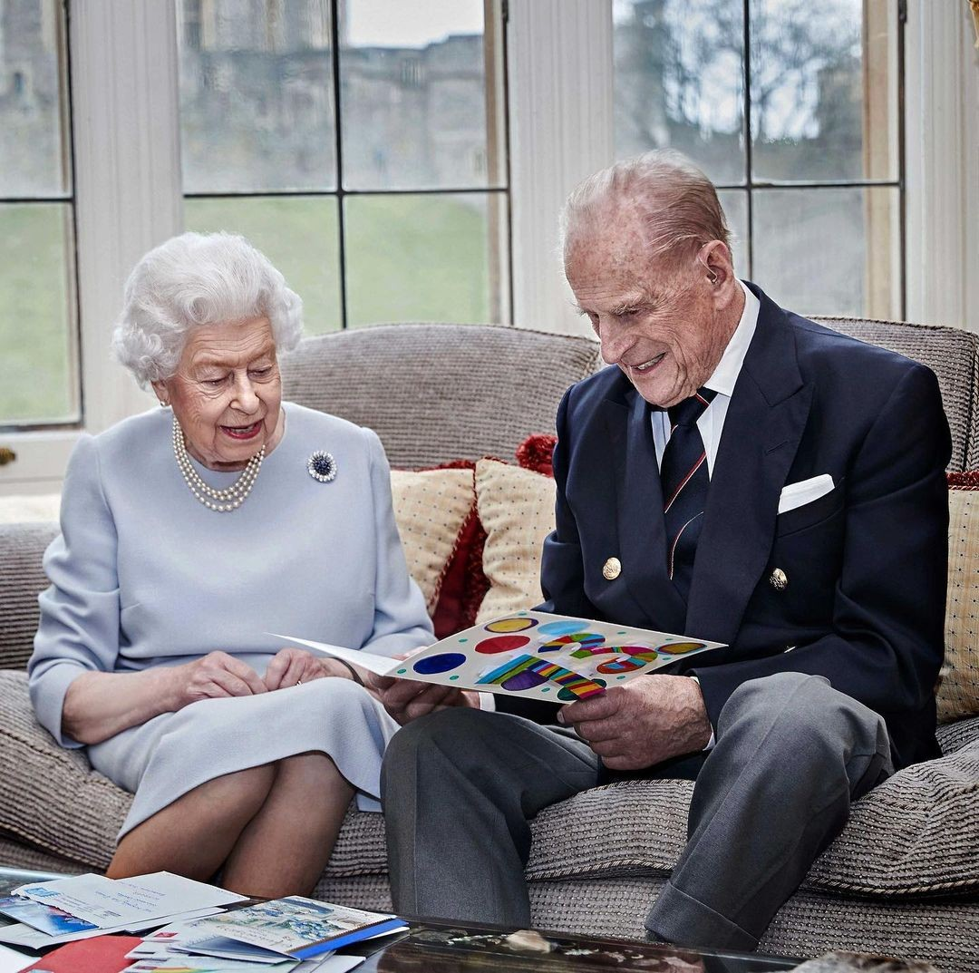 Rainha Elizabeth e Príncipe Philip.