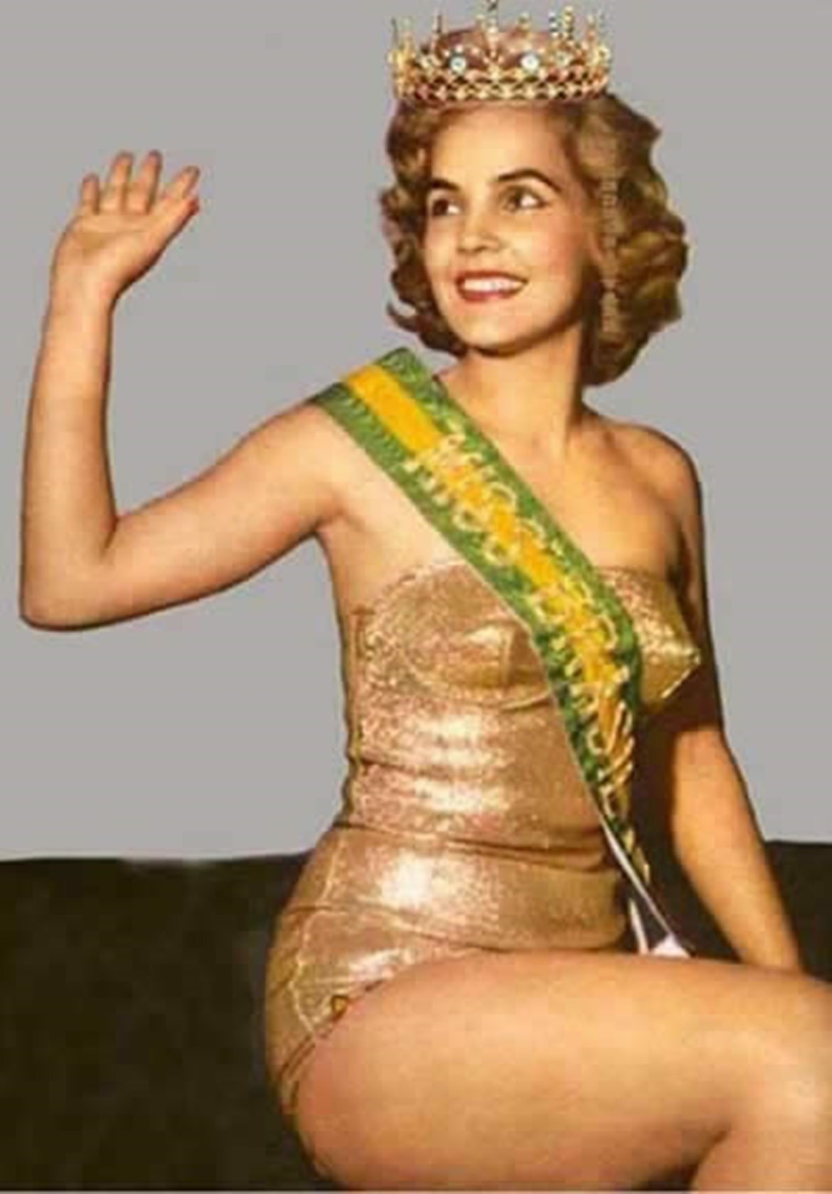 Therezinha Morango Pittigliani - Ex-miss Brasil 1957.