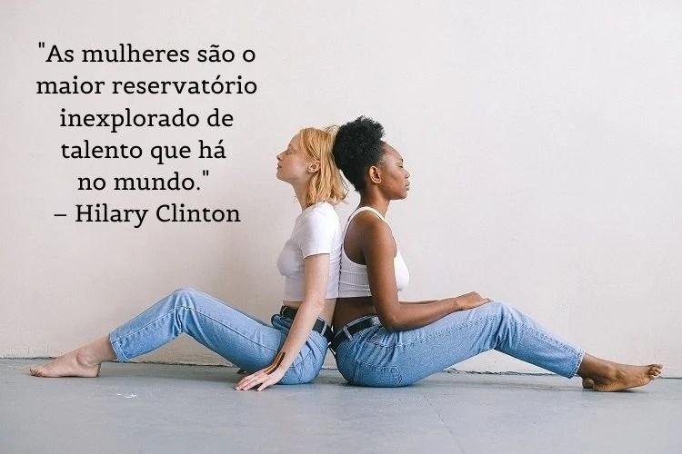 frase feminista Hilary Clinton