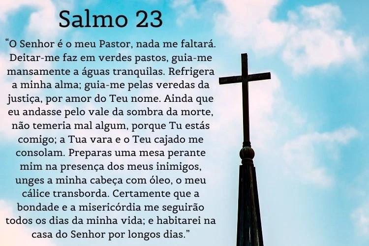 salmo 23, salmo de cura