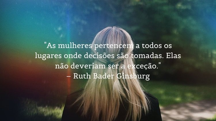 frase Ruth Bader Ginsburg