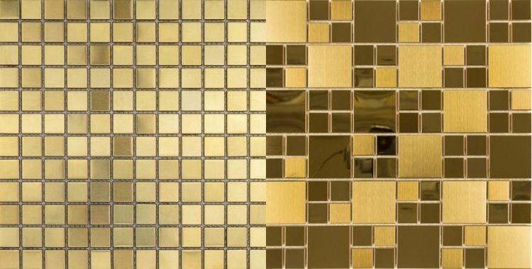 pastilhas douradas