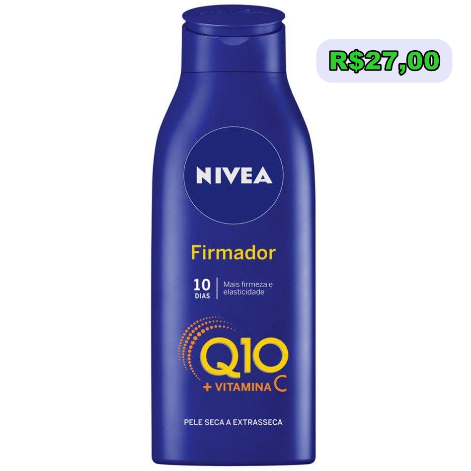 Hidratante Firmador Q10 Plus, da Nivea.