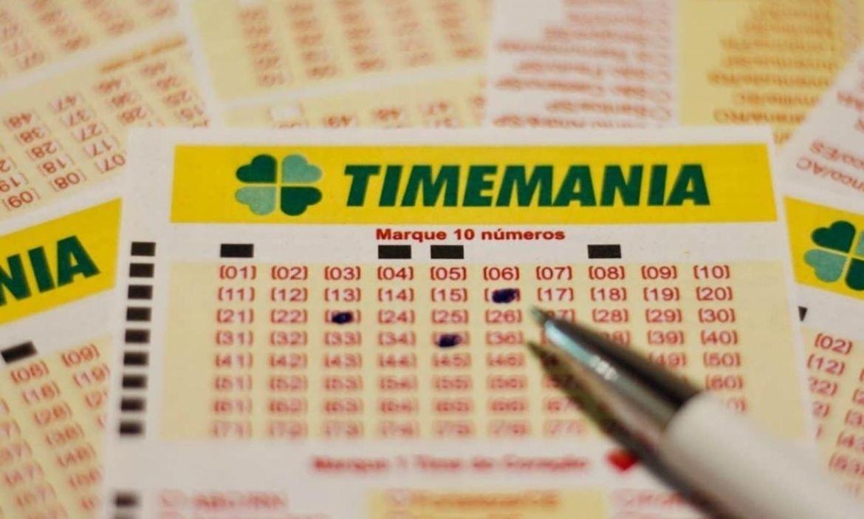 bilhete timemania - ganhar na loteria