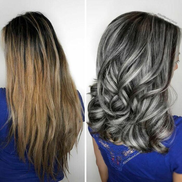 cabelos pintados