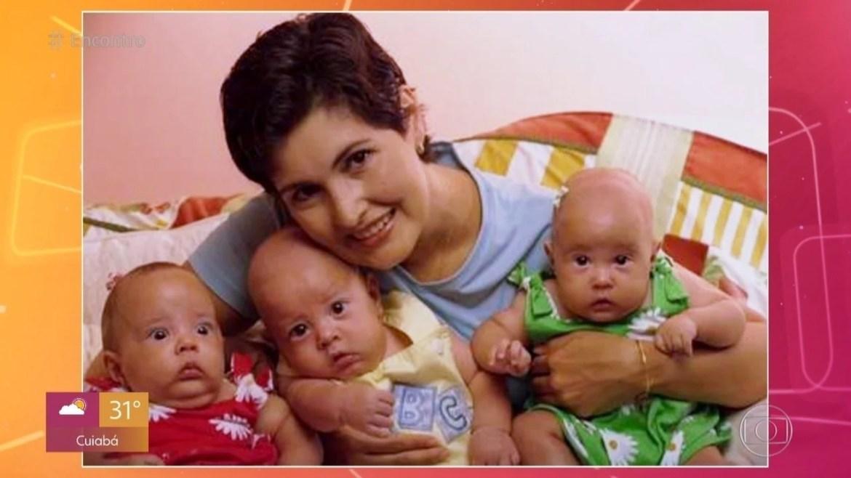 Fátima Bernardes e os filhos - Reprodução