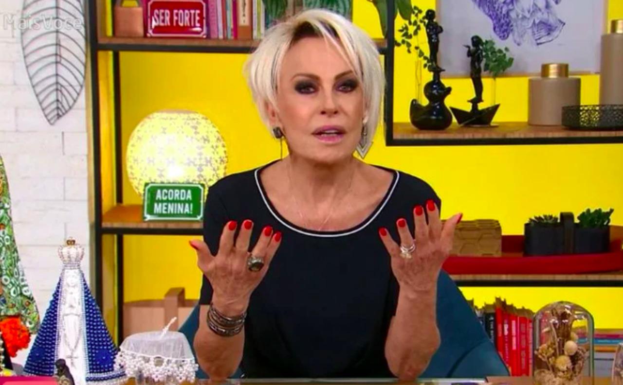 Ana Maria Braga pede desculpas ao vivo na Globo, após ser esculachada na web - Globo