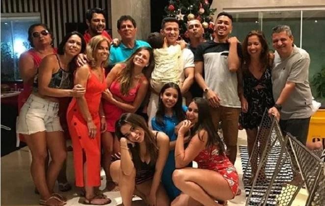 A família da cantora - Reprodução