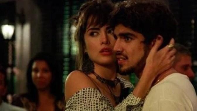 Caio e Maria Casadevall - Globo