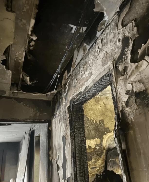 casa de Pàolla Oliveira incendiada