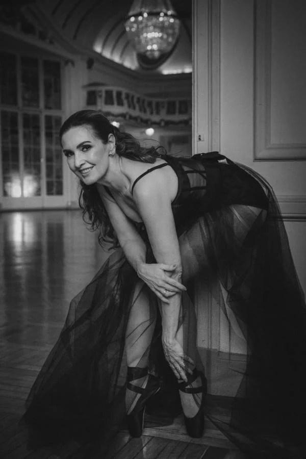 Apresentadora sonhava em ser bailarina - Reprodução