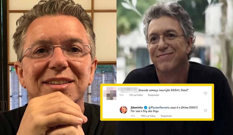 Boninho, direto do Big Brother Brasil.