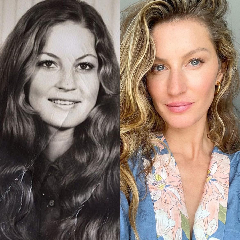 Mãe de Gisele Bündchen mais jovem.