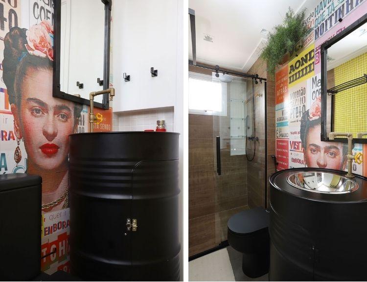 papel de parede Frida Kahlo