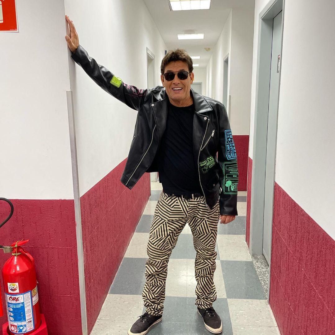 Artista Sérgio Mallandro hoje em dia.