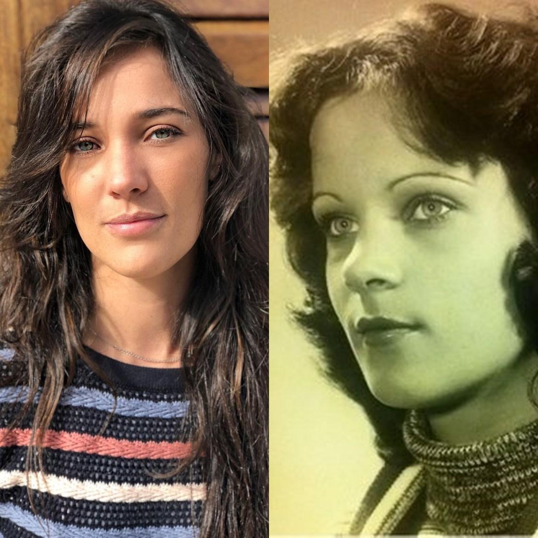 Mãe de Adriana Birolli mais jovem.