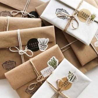 Embalagens criativas para trabalhos artesanais caixa