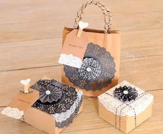 Embalagens criativas para trabalhos artesanais