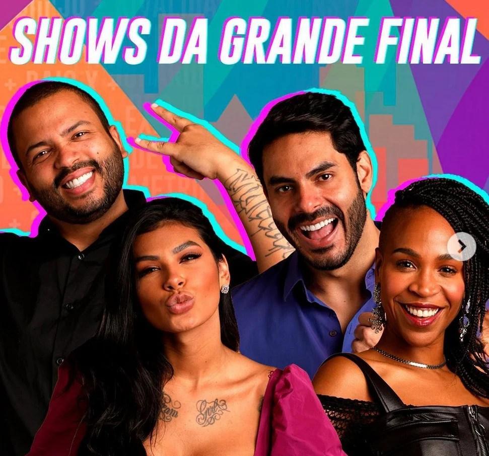Grande final do BBB 21 terá show dos participantes cantores