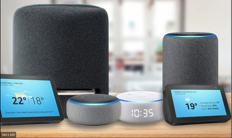 alto-falante inteligente - Alexa
