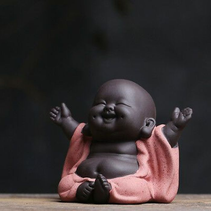 Buda sorridente para energia positiva.