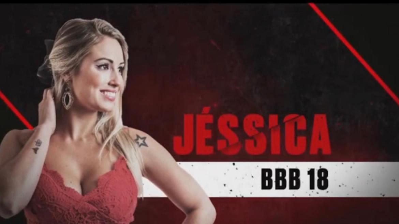 Jéssica participou do BBB18 (imagem: divulgação/ Globo)