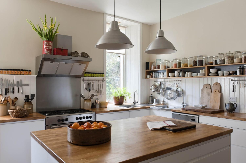 Organização na cozinha.