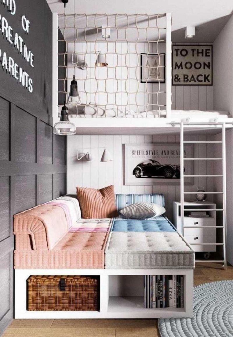 Duas camas.