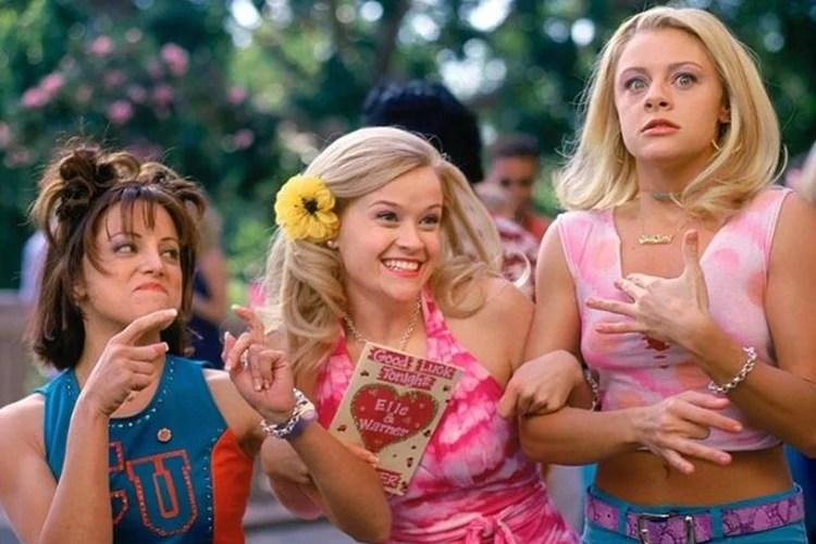 Filmes de comédia: Legalmente Loira – Legally Blonde.