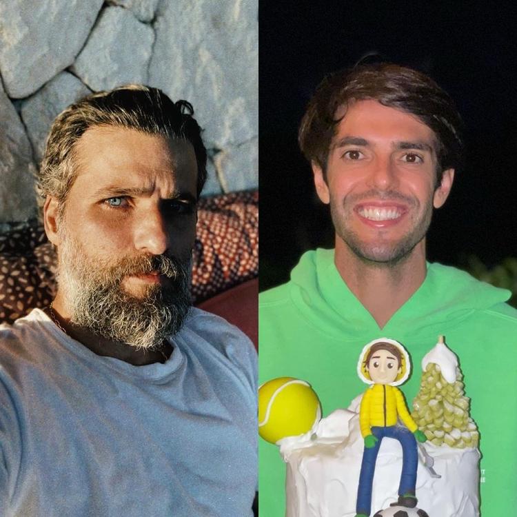 Bruno Gagliasso e Kaká: 39 anos.