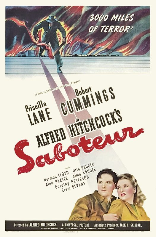 """Saboteur"" (1942)."