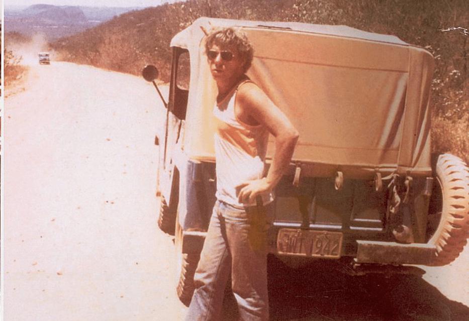 Claude Troisgros em 1980, 1 ano após sua chegada no Brasil