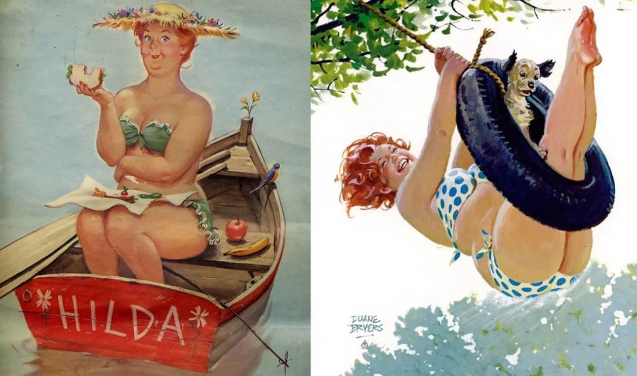 Pin-up Hilda de Duane Bryers.