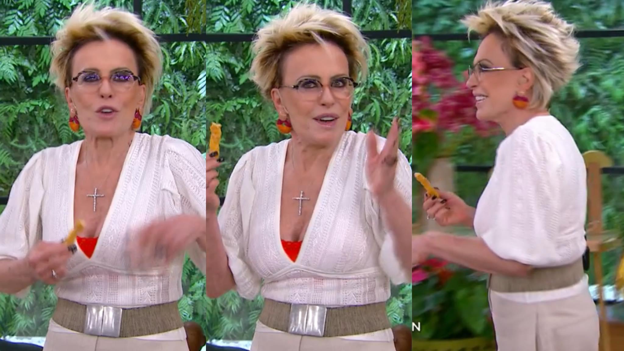 Ana Maria Braga dá dica inusitada para telespectadoras (montagem: Fashion Bubbles)