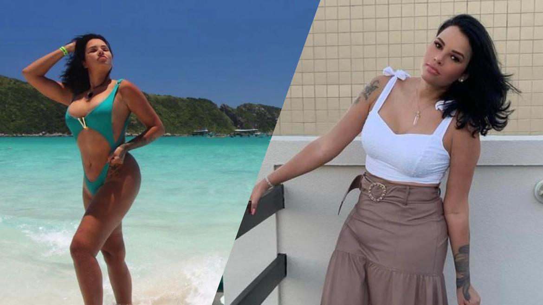 No Limite 5, Ari atualmente atua como esteticista e digital influencer. A morena mora na Italia (montagem: Fashion Bubbles)