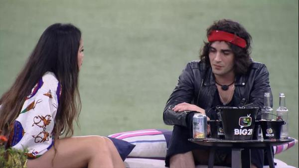 Juliette e Fiuk jogam a real em última noite do BBB 21 (imagem: reprodução/ Globo)