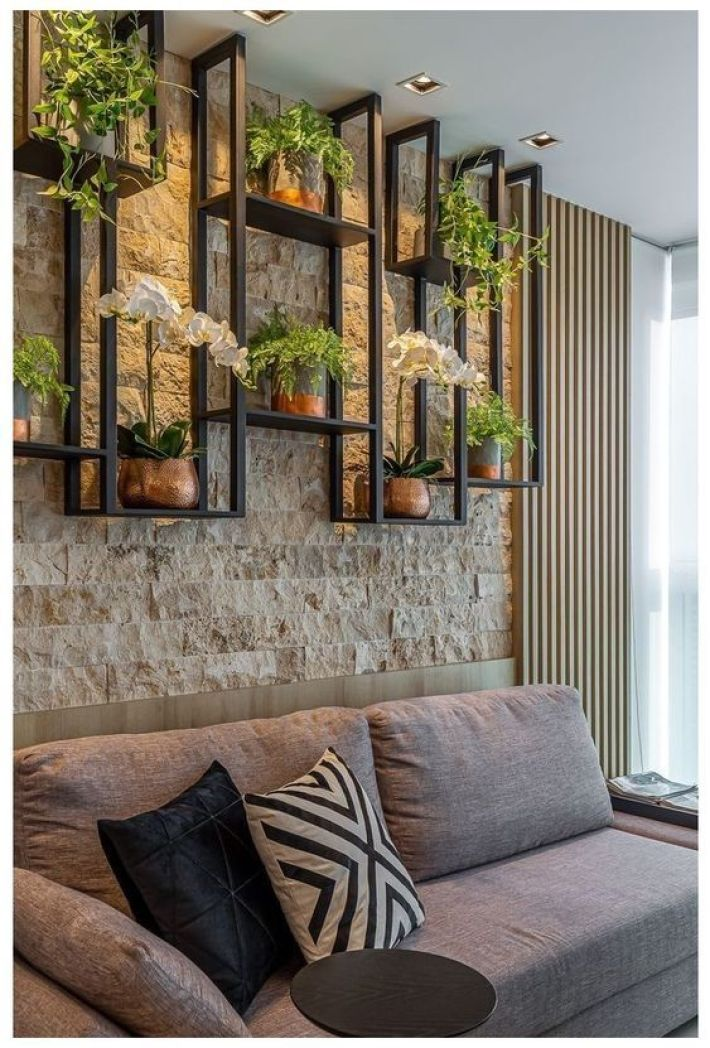 Jardim vertical para casa quentinha.