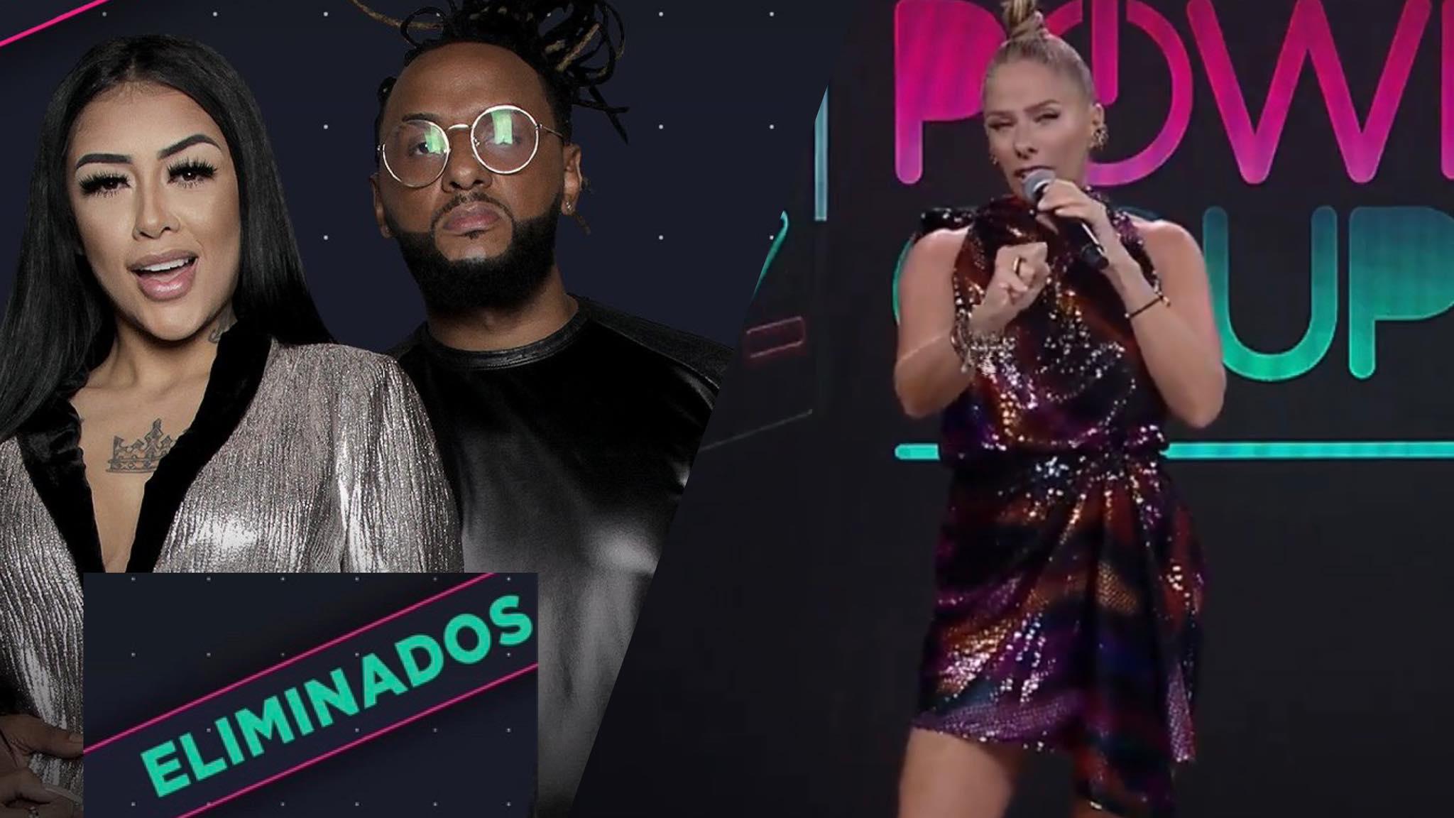 Fernanda Medrado e Claytão é o casal eliminado do Power Couple nessa semana (montagem: Fashion Bubbles)