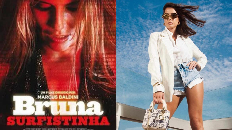 Deborah interpretou Bruna Surfistinha no cinema em 2011 (montagem: Fashion Bubbles)