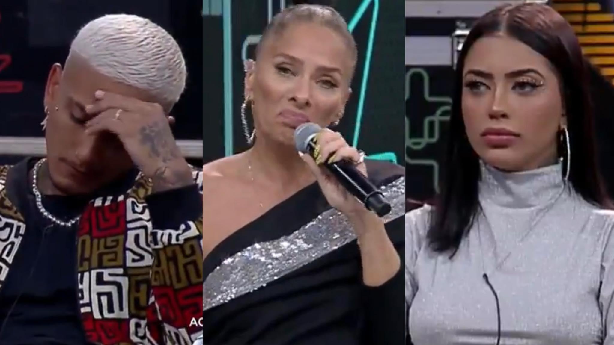 Adriane Galisteu anuncia recorde de votos em noite do Power Couple (montagem: Fashion Bubbles)