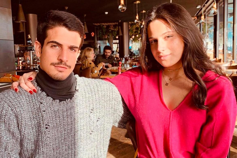 Enzo e Sophia Celulari