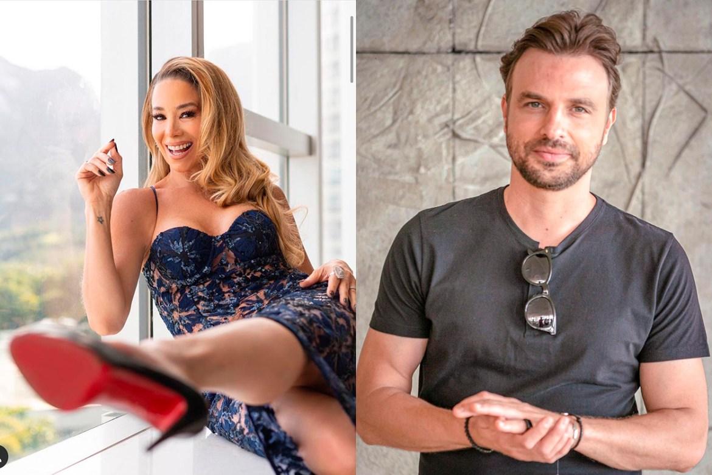 Danielle Winits e Cássio Reis
